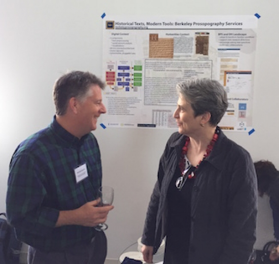 Berkeley Prosopography Services collaborators, Patrick Schmitz and Laurie Pearce
