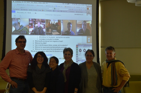 Group picture: Berkeley Prosopography Services seminar