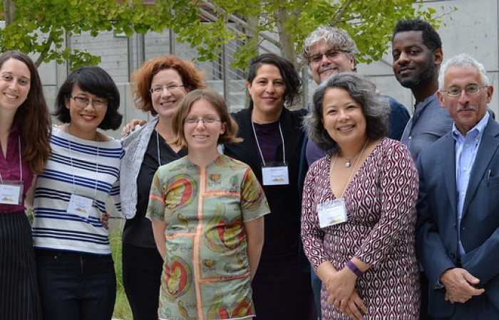 Staff and guest speakers at the Digital Humanities at Berkeley Summer Institute